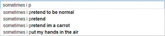Google Poetics